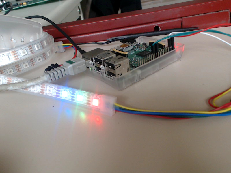 Raspberry pi + APA102 strip